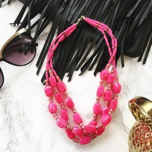 Jewelry - | HOT PINK MARBLE & GOLD |
