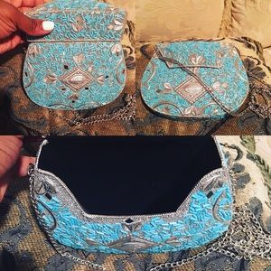 Hand-crafted Indian purse