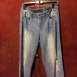 Kardashian kollection Kim curvy jeans