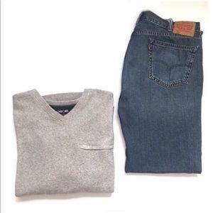 Cherokee Other - HP✨• Grey • Fleece • Pullover