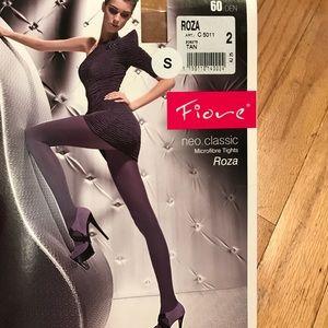 """Fiore golden line """"neo line"""" microfibre tights"""