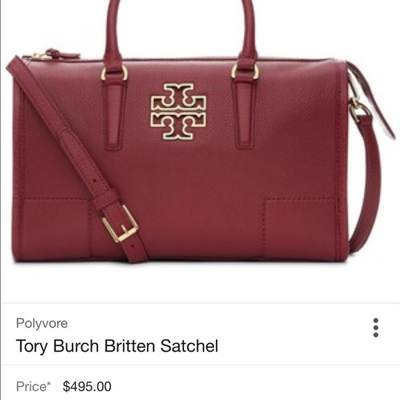 083ec585c9e Tory burch Britten satchel