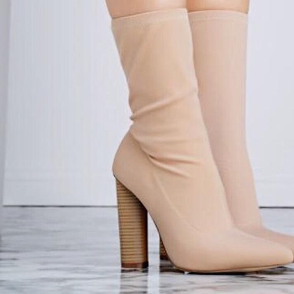 Sock Yeezy ShoesNude Sock ShoesNude Yeezy Boot Poshmark Boot zMpVSU