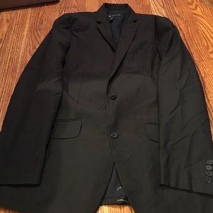 NWOT INC Black Striped Blazer