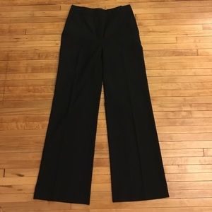 JCrew Wool High Waist Wide Leg Trousers