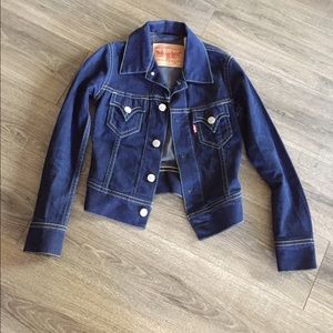 Levi's denim jacket XS