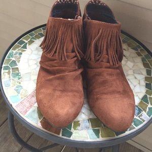 Zigi Soho Shoes - Fringe booties
