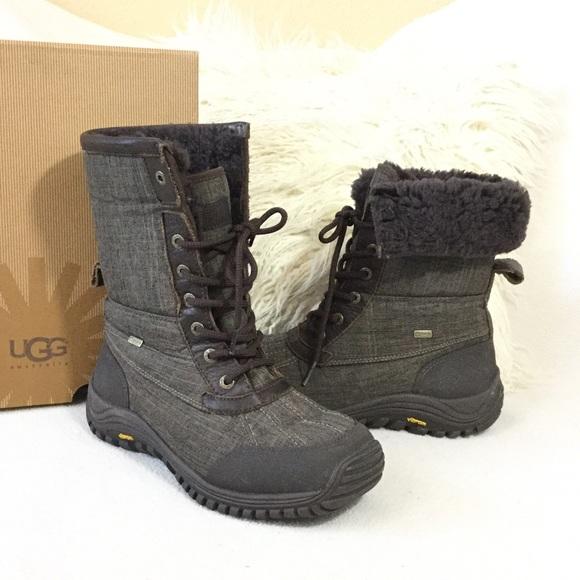 UGG Brown Waterproof Adirondack boots