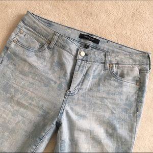 Liverpool Jeans Company Denim - Liverpool Cami Crop floral print jeans