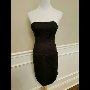 H&M Dresses & Skirts - H&M Black Strapless Mini Dress With Side Pockets