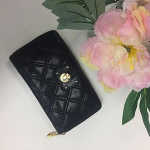 Marc Jacobs Collection Black Leather Wallet