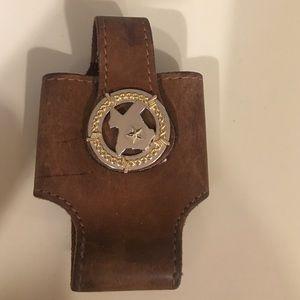 Custom made Leather IPhone 6 case