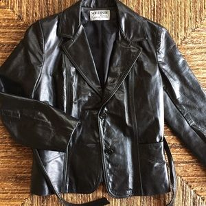 Northside Jackets & Blazers - Sz 4P Black Leather Jacket