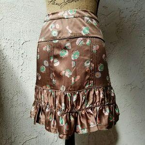 Marc Jacobs Dresses & Skirts - Marc Jacobs flowered print silk skirt
