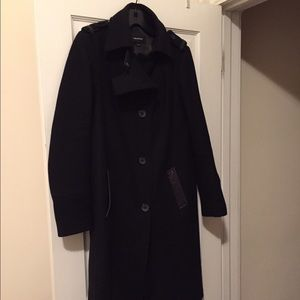 Mackage wool blend coat!