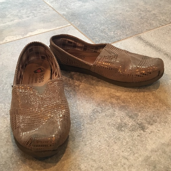 bobs shoes for women gold