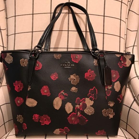 51% off Coach Handbags - 🎉SALE🎉 New Coach Ava floral handbag ...