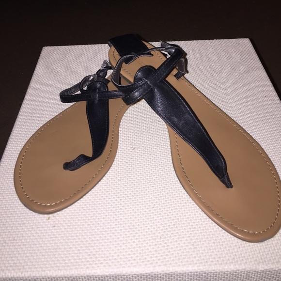 b5baa2704197 Express Shoes - Express simple black sandals