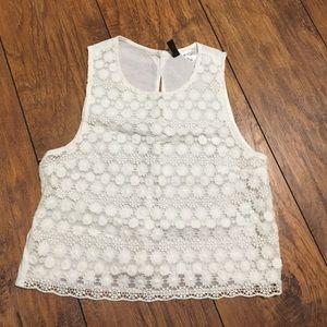 sleeveless H&M top