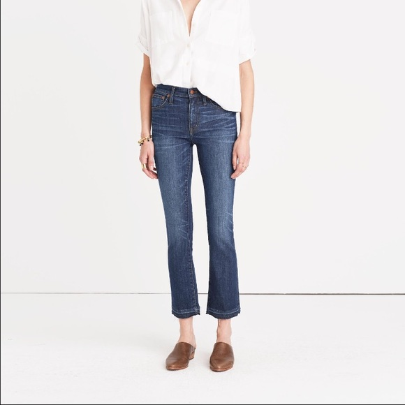 73 Off Madewell Denim Cali Demi Boot Jeans In Mitchell