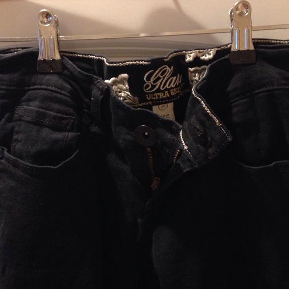 refuge Jeans - Black refuge skinny jeans