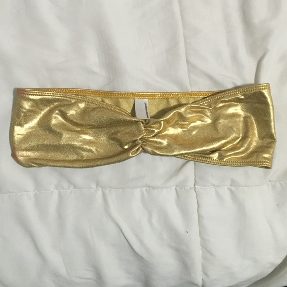 38% off American Apparel Other - American apparel Shiny gold ...