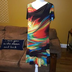 Soft Gallery Dresses & Skirts - Multi-color sleeve dress. (Size: XL) (NWT)