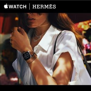 Authentic 38mm apple Hermes watch.