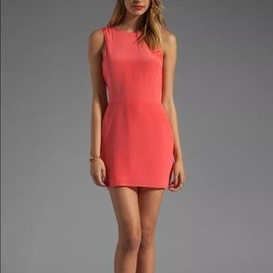 Bec & Bridge Dresses & Skirts - Bec & Bridge Coral Sabine Drape Bow Dress