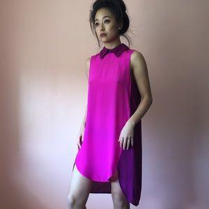 Shakuhachi Dresses & Skirts - Shakuhachi Silk Colorblock Dress