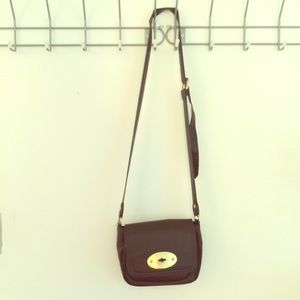 Mulberry for target leather crossbody bag