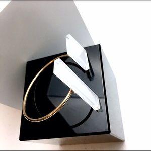 Boutique Jewelry - 🎁 Geometric Glass Gold Bracelet