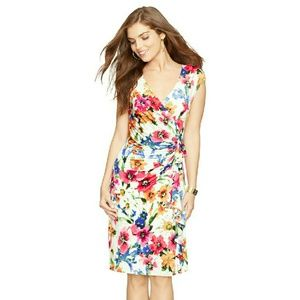American Living  Dresses & Skirts - American Living Ruffle Cap Sleeve Sheath Dress NWT