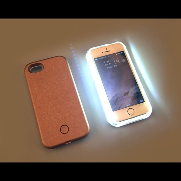 best service 44b8a 9ed4a illuminated LED Selfie Case 4 iPhone 5/5s/SE