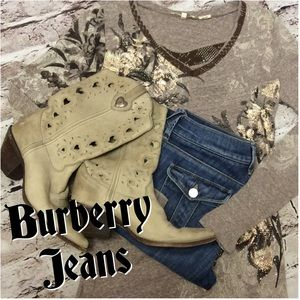 HPAUTHENTIC BURBERRY FLARE JEANS
