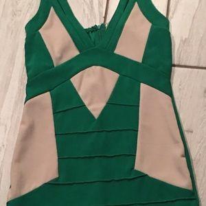 Dresses & Skirts - 2 toned bondage dress