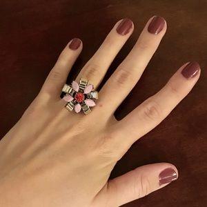 Jcrew Jeweled Flower Statement Ring (8)