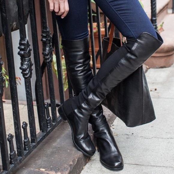Qualité Aaa Stuart Weitzman 5050 knee high boots Meilleur Choix Ww8NCBIr9