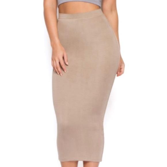 1d3536aa6865 OH POLLY Skirts | Moca Maxi | Poshmark