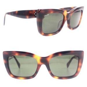 Celine Havana Tortoise Sunglasses New