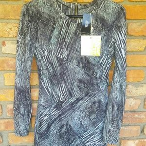 Torn by Ronny Kobo Dresses & Skirts - Torn by Ronny kobo,  printed dress,  NWT Sz XS