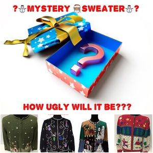 """MYSTERY """"Ugly"""" SWEATER!"""