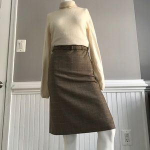 Ellen Tracy Dresses & Skirts - Classy Plaid Pencil Skirt