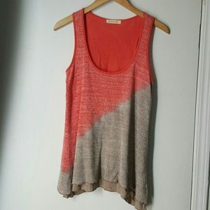 Multi-colored layered tank