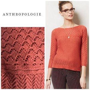 Anthropologie Bellevue sweater - Sparrow