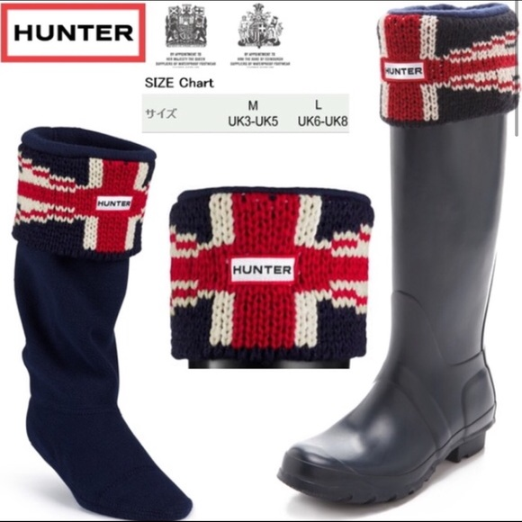 LIMITED EDITION Union Jack Hunter Socks
