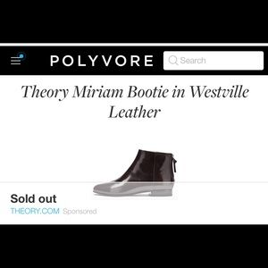Theory Shoes - ⚡️FINAL SALE TONIGHT⚡️THEORY ankle booties