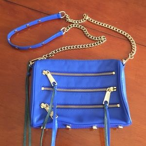 Rebecca Minkoff Electric Blue Crossbody