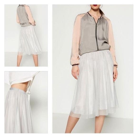 7349995b20 Zara Skirts | Tulle Skirt | Poshmark