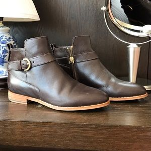 Kate Spade Saturday Buckle Moto Boots